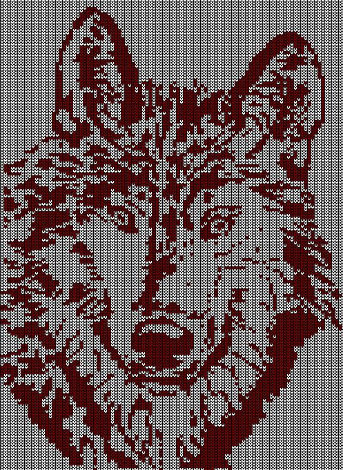 1000 strickmuster 035 wolf for Norweger strickmuster