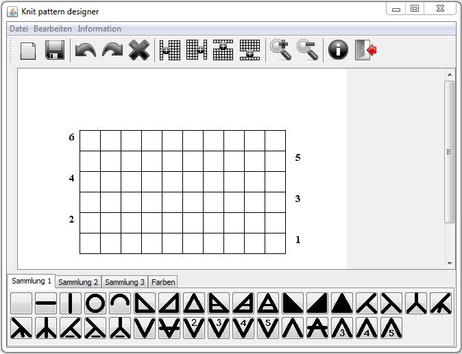 1000 Strickmuster Knit Pattern Designer